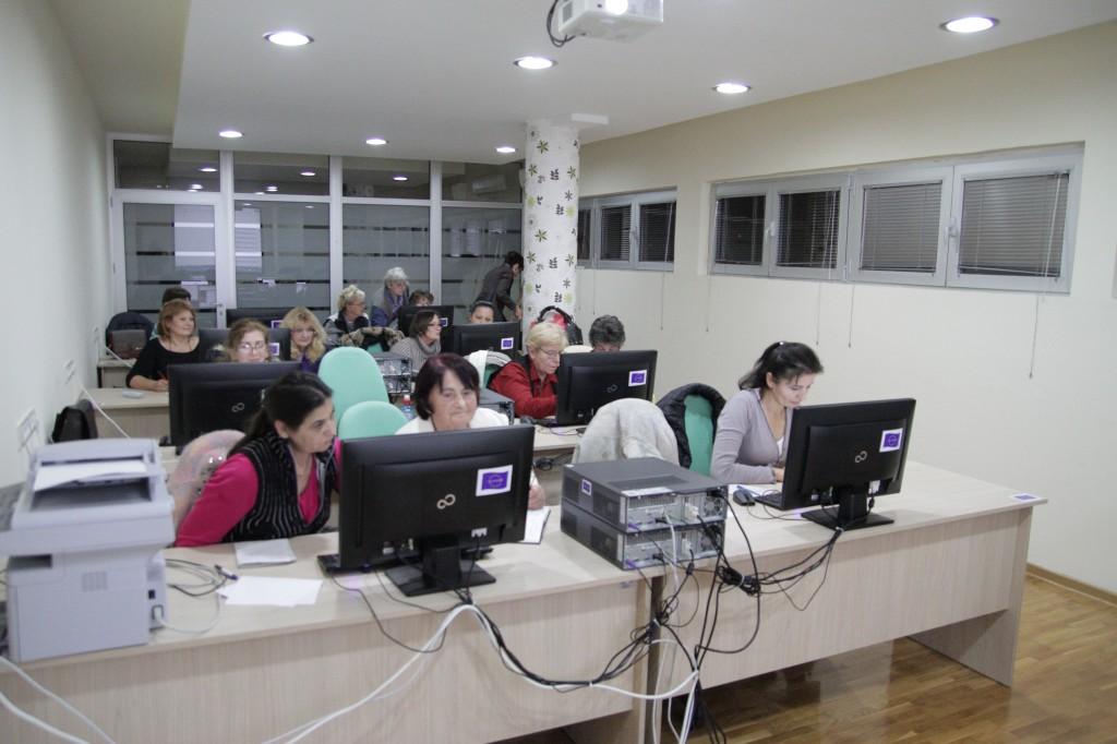 Informatička obuka za žene sa sela