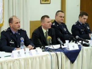 Konferencija za stampu pancevacke policije