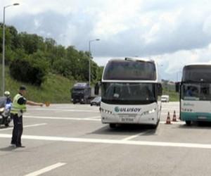Do kraja leta policija intenzivira kontrole vozača autobusa