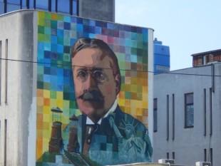 Pančevo dobilo mural s likom Mihajla Pupina