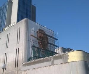 Pančevo dobija mural s Pupinovim likom
