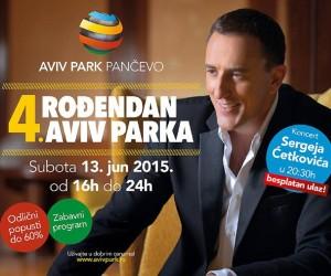 """""""Aviv"""" slavi 4. rođendan: u subotu besplatan koncert Sergeja Ćetkovića"""