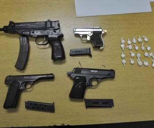 Zaplenjeno oružje i droga