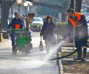 """""""Higijena"""" počela pranje gradskih ulica"""