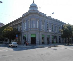 Rekonstruisana fasada na uglu Dimitrija Tucovića i Braće Jovanović
