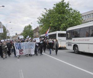 Protesti počeli i u Pančevu