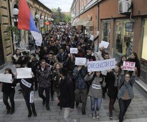 Pančevci protestovali i večeras