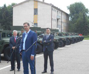 Vojska Srbije dobila devetnaest novih američkih borbenih vozila
