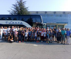 Polazak iz Pančeva u Split