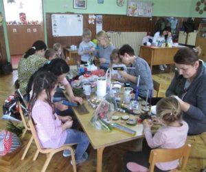 Radionica roditelja i dece održana u predškolskoj ustanovi u Debeljači