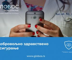 """Samo u """"GLOBOS OSIGURANJU"""": telemedicina u sklopu paketa osiguranja"""